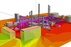 Industrial Plant design - SoundPlan