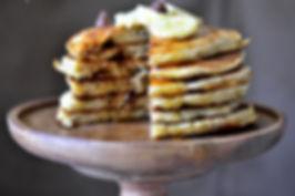 Pancakes fourrés à la banane Max de Genie