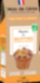 Préparation bio pour muffins aux pépites
