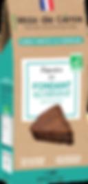 Préparation biologique pour fondant au chocolat
