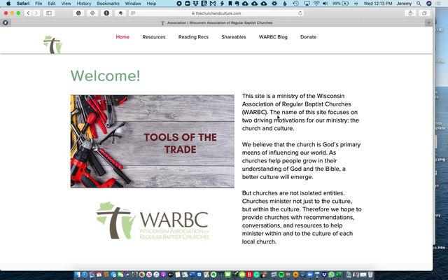 Walking through the updated website