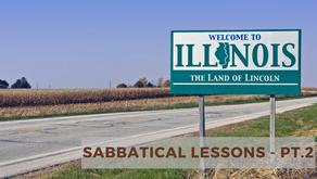 Sabbatical Lessons - pt. 2
