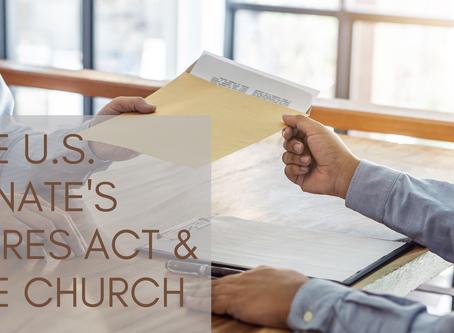 The U.S. Senate's CARES Act & the Church
