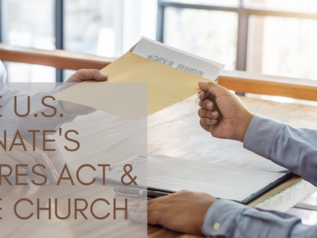 The U.S. Senate's CARES Act & the Church