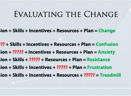Evaluating Change Initiatives