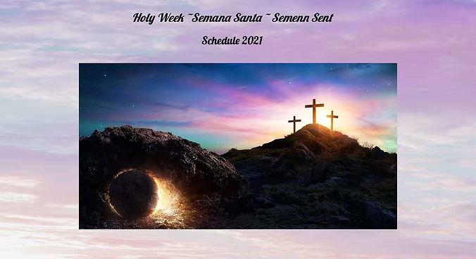123 Holy Week _Semana Santa _ Semenn Sen