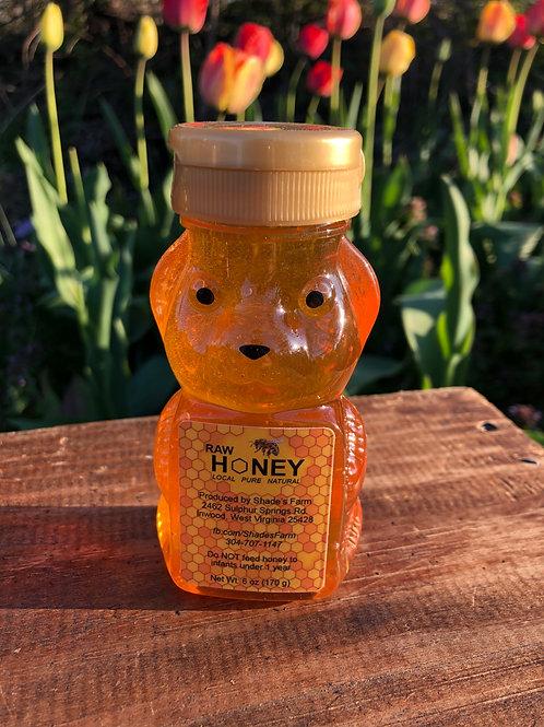 Shade's Farm Honey Bear 6 oz.