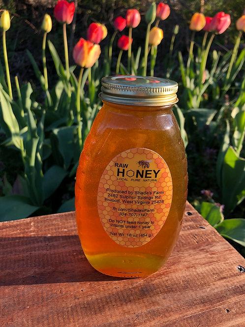 Shade's Farm Honey 1 Pound