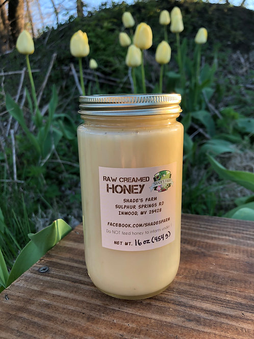 Shade's Farm Creamed Honey 1 pound