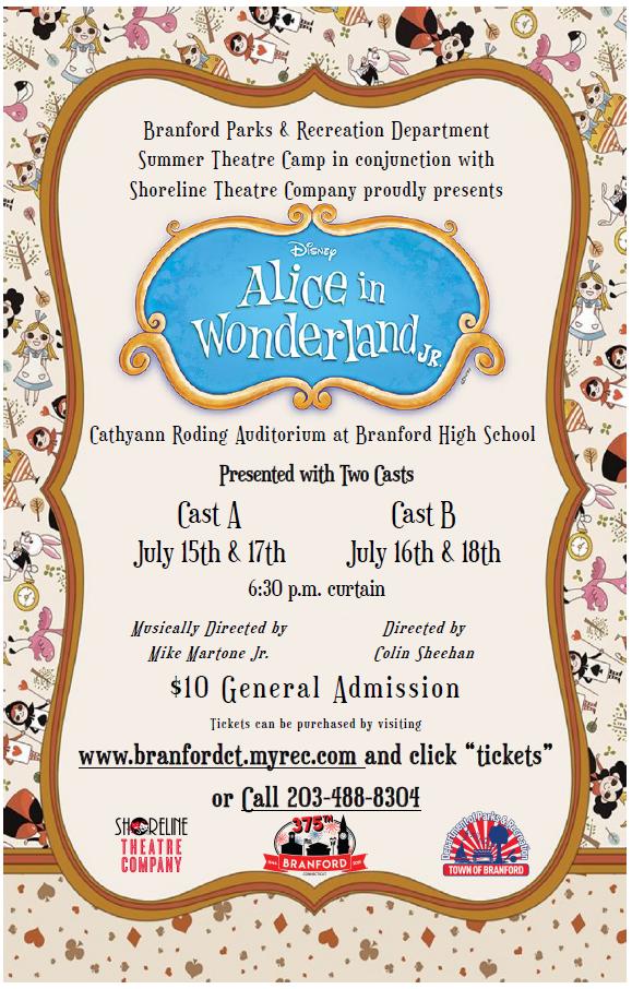Alice in Wonderland Jr. 2019