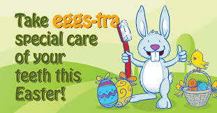 Dental tips for Easter