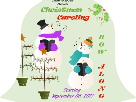 2018 Oh Christmas Tree Pattern - Click on SHOP to purchase pattern