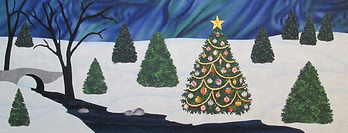 2017 Oh Christmas Tree Applique Pattern