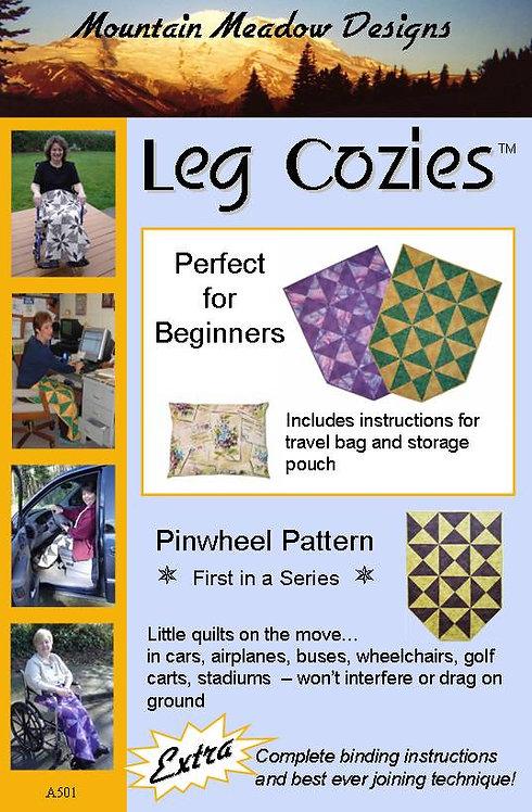 Leg Cozies - Pinwheel Pattern