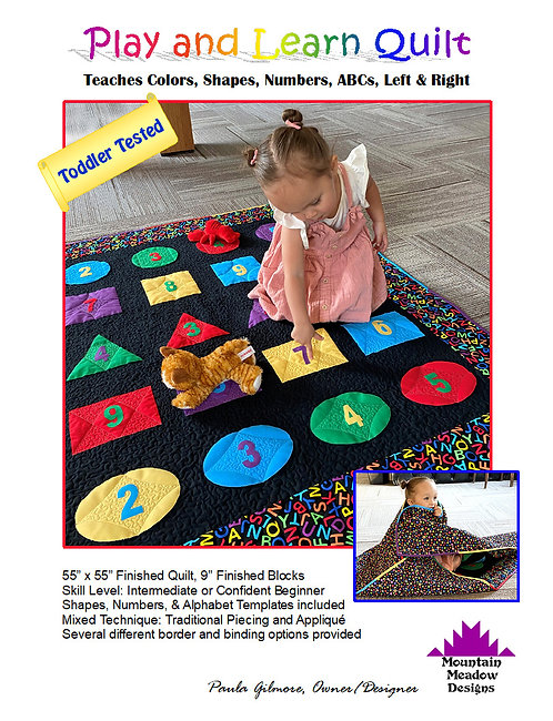 Play and Learn Quilt