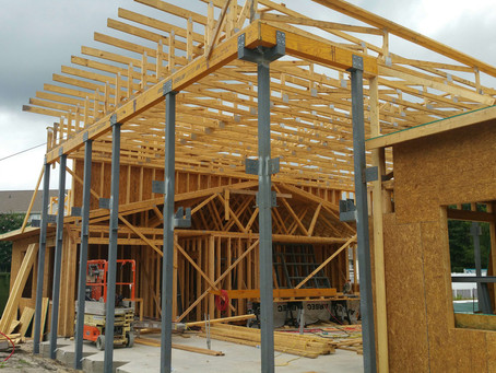 Abbotts Run Clubhouse Takes Shape