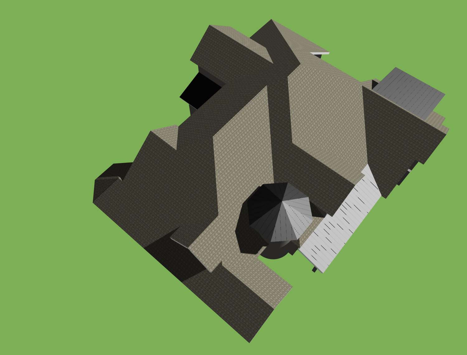 12001_Tunis Residence_Roof Sketch
