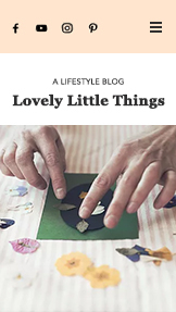 Lifestyle website templates – Lifestyleblog moeders