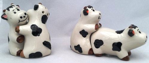 Cheeky cows cruet set