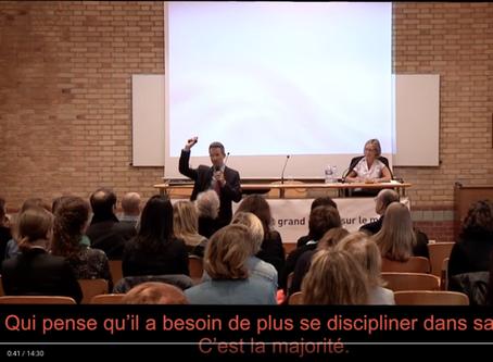 Master class Tal Ben Shahar sur le bonheur: De l'auto-discipline aux rituels