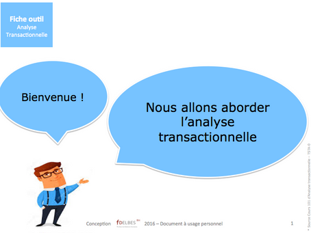 Fiche outil Analyse transactionnelle