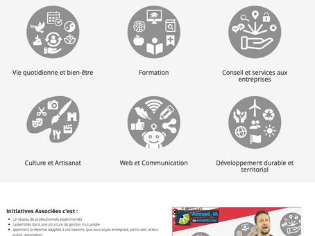 Un nouveau site pour nous faire connaître...n'hésitez pas à diffuser http://www.initiatives-asso
