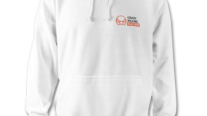 Unisex Hoody - White Small Logo