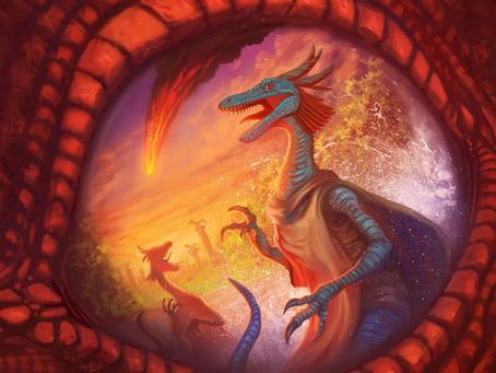 Keyforge RPG Character Creation - Pebblesaurus (Oli)