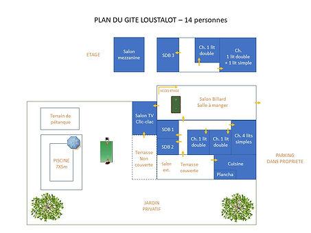 plan du gite Loustalot- 14 personnes.jpg