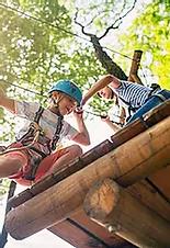 Activité de plein air pour les enfants.w