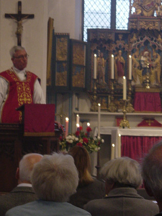Fr Frank celebrates 45 years since his Ordination