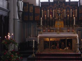 Crib at St John's Church