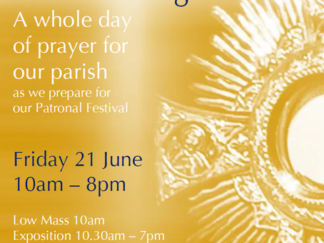 Look to the Lord: a day of prayer