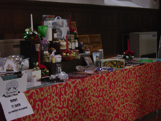 Advent Fundraising Stall
