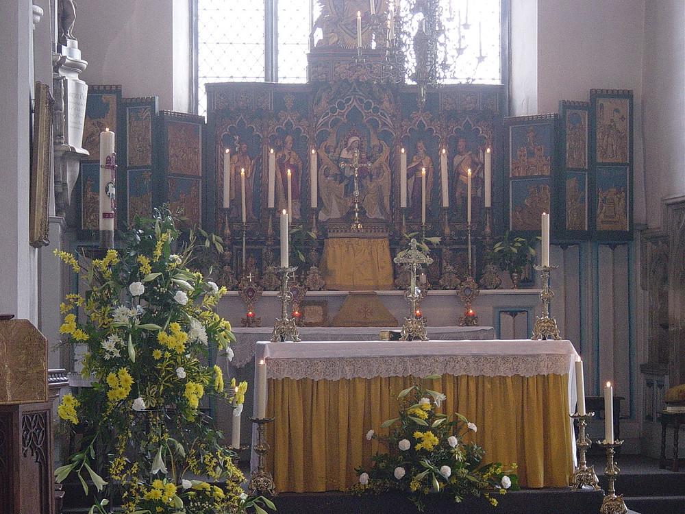 High Altar Easter 2015.JPG