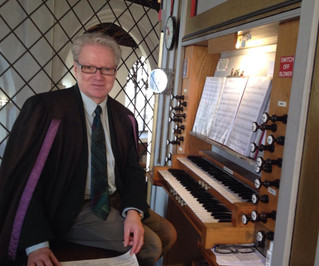 Our organist - Keith Buxton - celebrates a very special anniversary