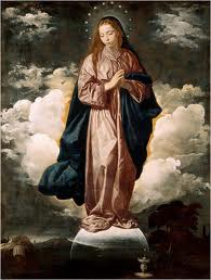 Immaculate Conception - Mass on 8th December at 12 noon