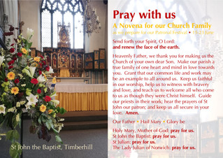 Novena for our Church Family