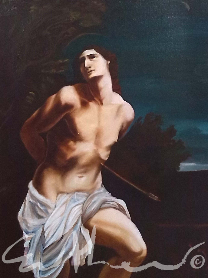 Copy of Guido Reni's St Sebastian - 2017