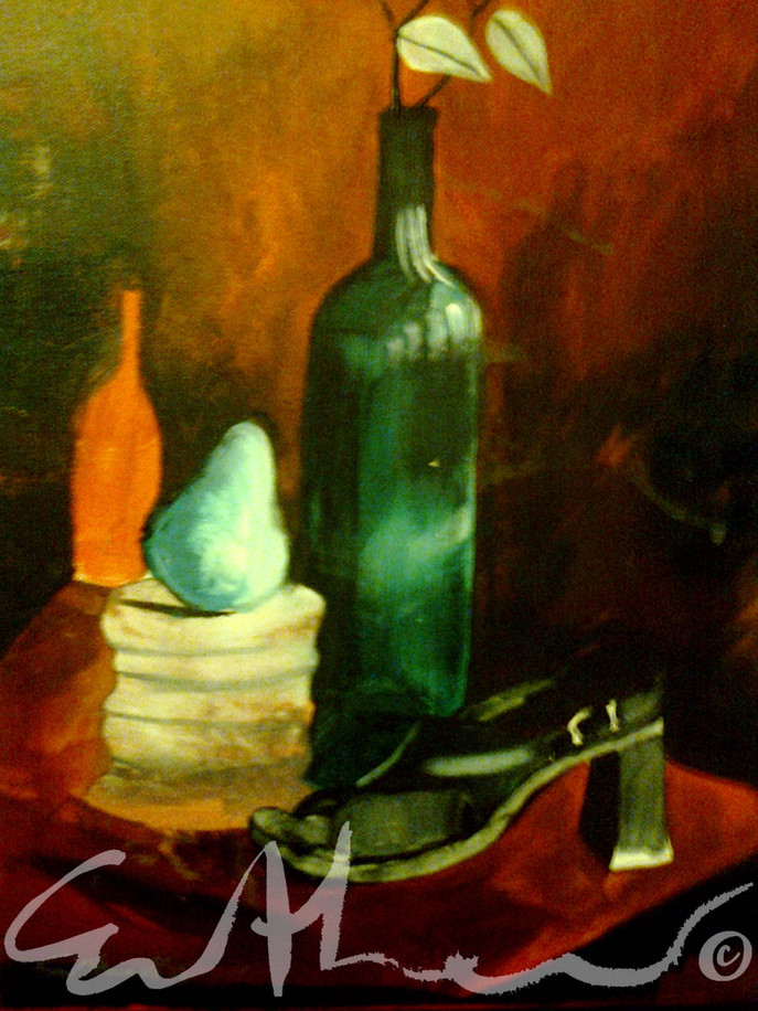 Still life with shoe - 2010