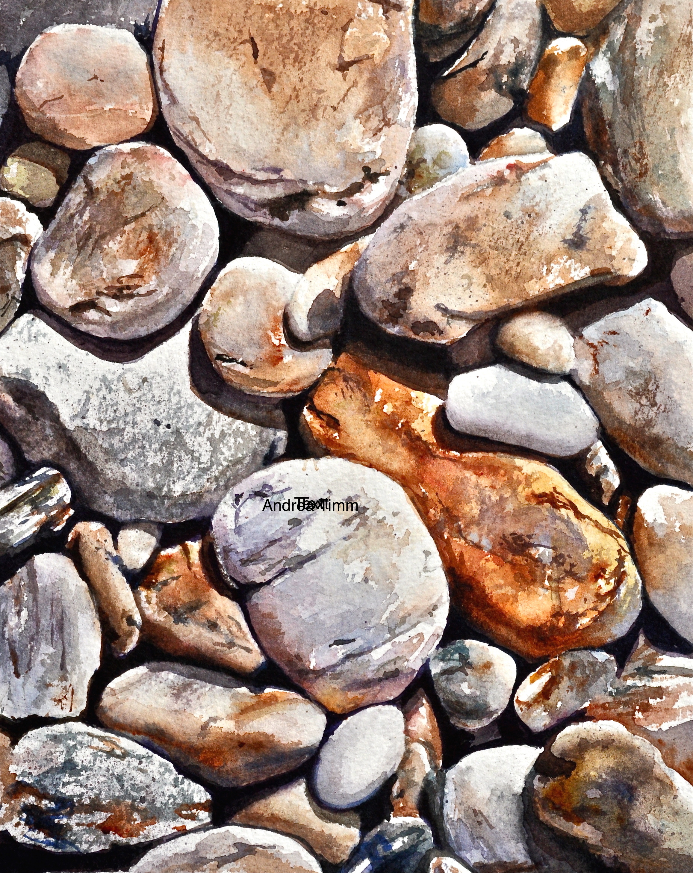 """Beach Rocks of Eagle Island"""