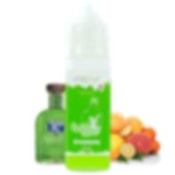 E-Liquido Vapur Svizzera Greenasty, sapore di assenzio