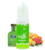 E-Liquide Suisse Vapur Greenasty, goût absinte