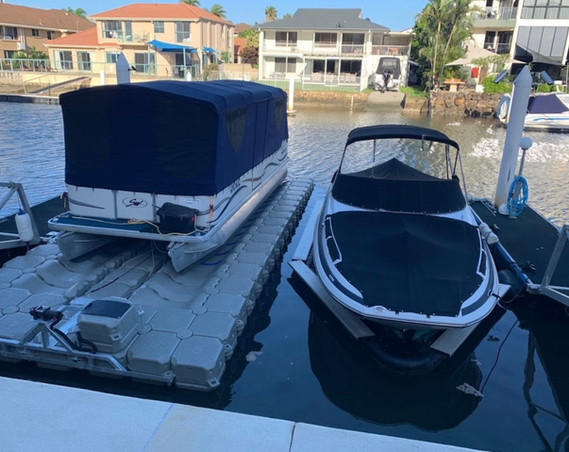 Ultimate Docking Systems BBQ Boat Instal