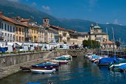 Bootsfahrt auf dem Lago Maggiore...