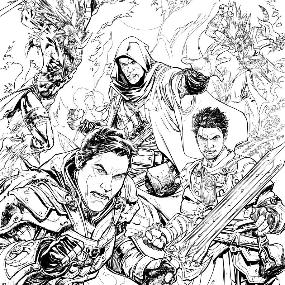 World of Warcraft Inks