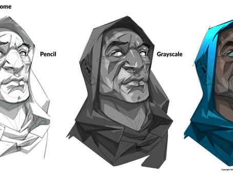 Update 12: HOOD Character Sketch!
