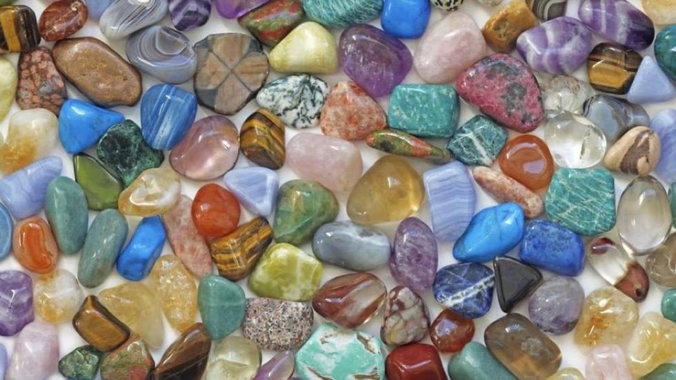 Lot 5 pierres roulées au choix