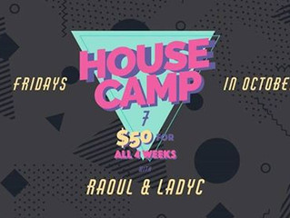 Lady C & Raoul Wilke are back with  House Intensive- 7th Edition