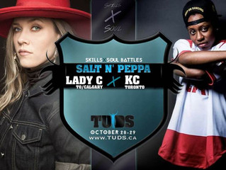 Lady C & KC team up for TUDS 2017